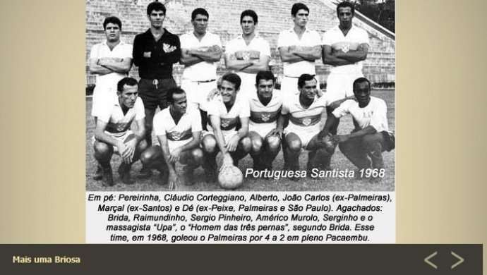 Portuguesa santista 68