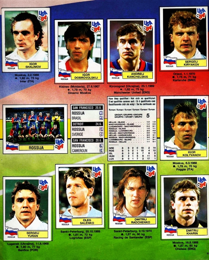 panini world cup 1994017   desmanipulador